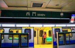 Ximen metro station