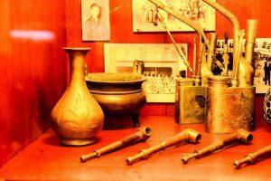 a set of utensils